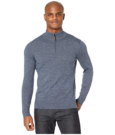 Smartwool Sparwood 1/2 Zip Sweater (Alpine Blue/Medium Gray Marl) Men