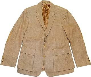Polo Ralph Lauren Purple Label Mens Italy Cashmere Blazer Sport Coat Camel