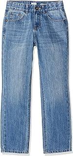 IKKS Junior Jean Denim Loose Fit Stone Blue Jeans para Niños