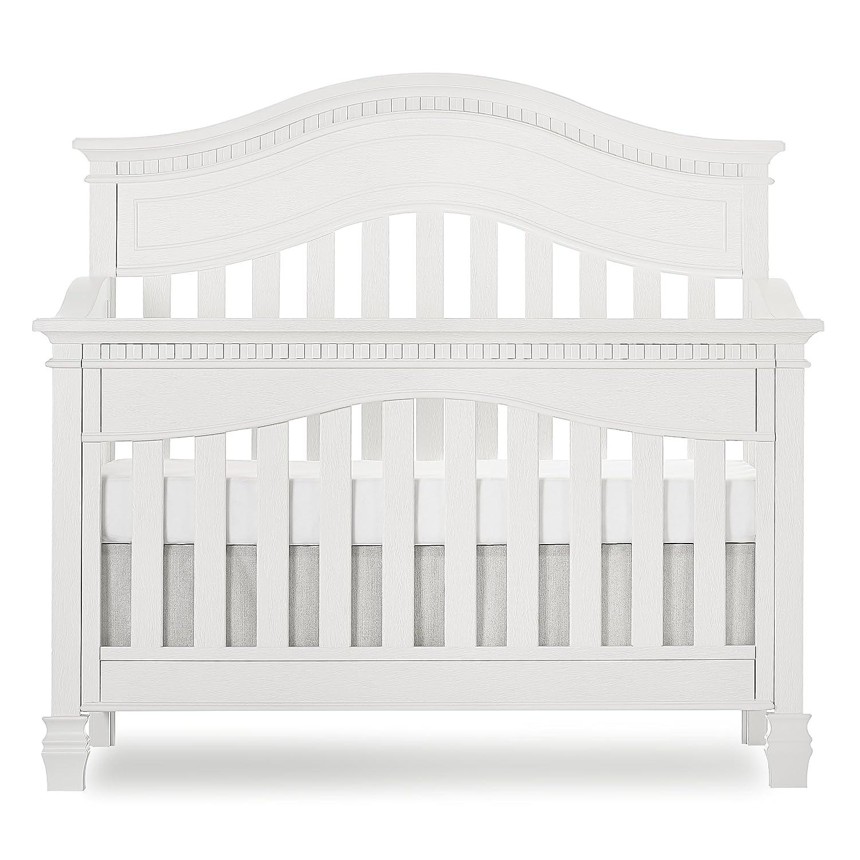 Evolur Columbus Mall Cheyenne 5-in-1 Super sale period limited Convertible Brush Crib in White