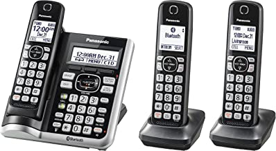 Panasonic KX-TGF573S Link2Cell BluetoothCordless Phone with Voice Assist and Answering Machine - 3 Handsets (Renewed) photo