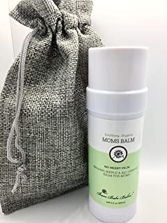 Moms Nipple Cream for Nursing, Soothing Calendula, Nipple Balm for Breastfeeding, No Mess Balm Stick, All Natural Moisturi...
