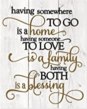 MRC Wood Products Having Somewhere to Go is A Home Someone to Love is Family Both is A Blessing...