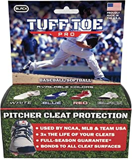 Tuff Toe Pro Baseball Pitchers and Catchers Cleat Guards | Pitcher Shoe Drag Protector