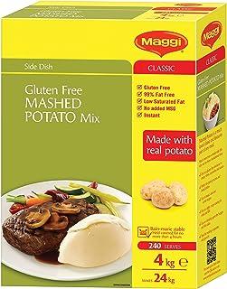 MAGGI Classic Gluten Free Mashed Potato Instant Mix, 4kg (Makes 24kg, 240 Serves)