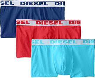 Diesel Men's 3-Pack Shawn Boxer Stretch Trunk Underpants