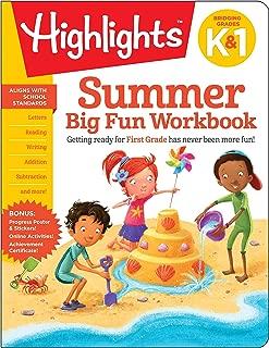 Summer Big Fun Workbook Bridging Grades K & 1 (Highlights(TM) Summer Learning)