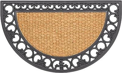 HMT 375200Gazelle Half Moon Coir Doormat 45x 75cm