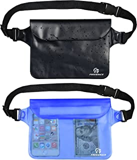 Waterproof Pouches with Waist Strap / Pouch Case Bundle Set- Keep Your Phone &..