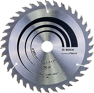 Bosch Professional Cirkelsågblad Optiline Wood för handcirkelsågar, 165 x 20/16 x 1,7 mm, 36, 2608642602
