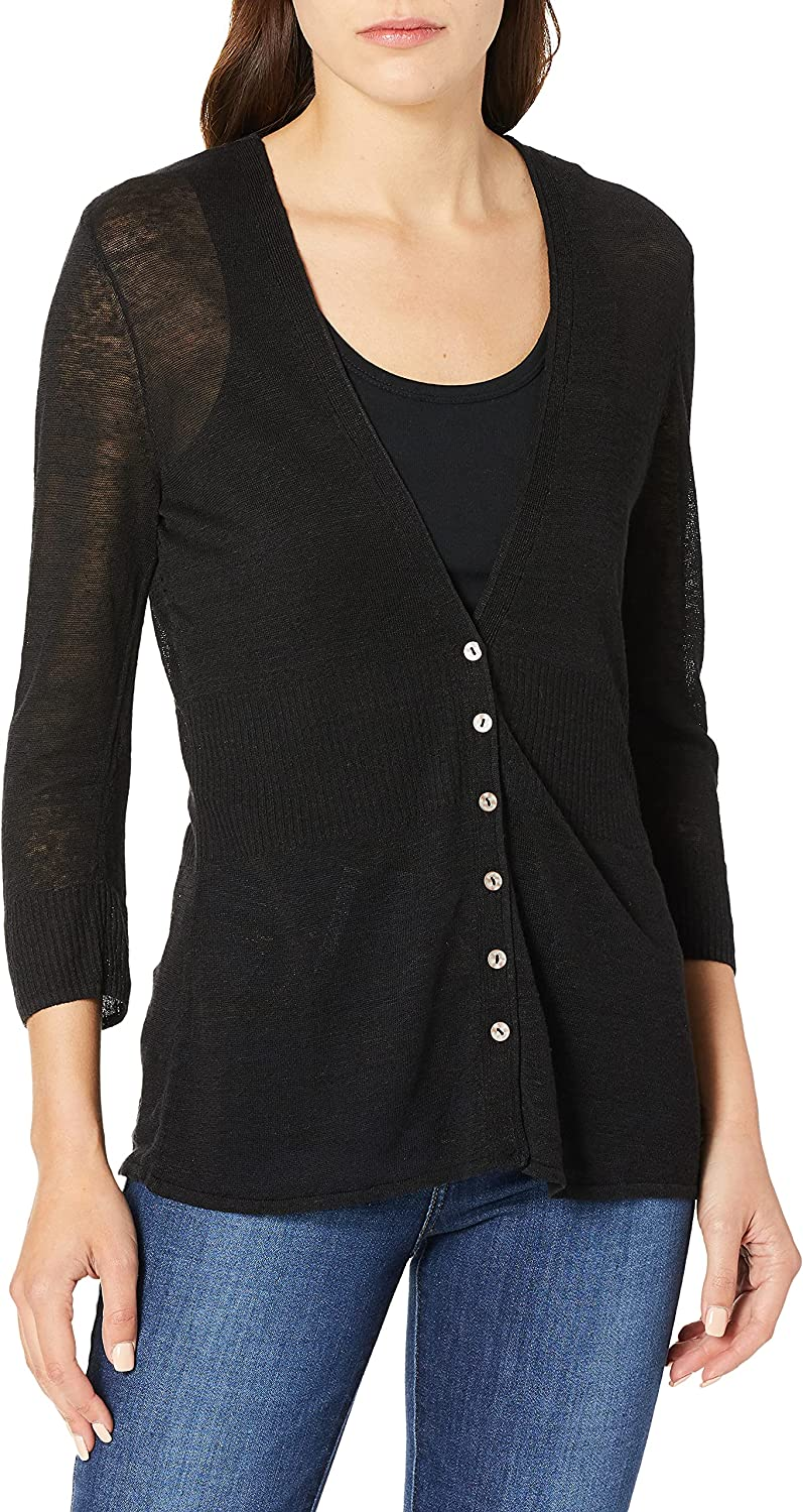 NIC+ZOE Women's New Back The Brand Max 44% OFF Cheap Sale Venue Chair Cardy of