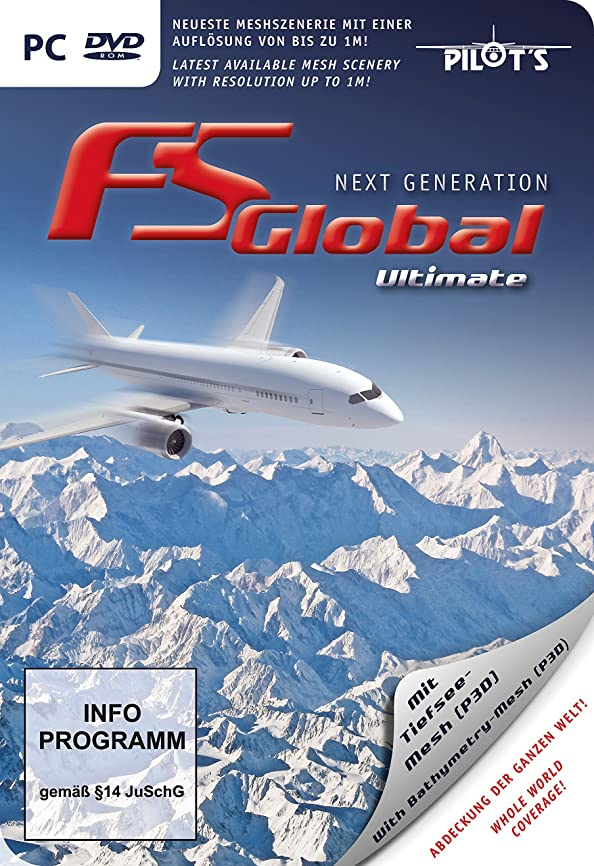 文明化する技術懐疑論FS Global Ultimate - Next Generation (FSX / P3D)(輸入版)