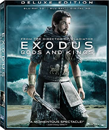 Exodus: Gods and Kings Blu-ray 3d Deluxe Edition;Blank - None