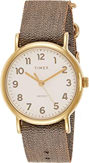 Timex Women's Quartz Watch, Analog Display and Textile Strap TW2R92300