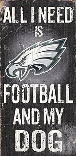 Fan Creations N0640 Philadelphia Eagles Football and My Dog Sign