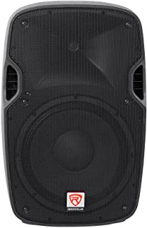 Rockville SPGN128 12 Inches Passive 1200W DJ PA Speaker ABS Lightweight Cabinet 8 Ohm