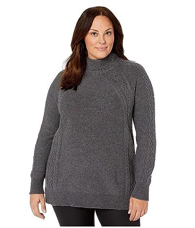 Aventura Clothing Plus Size Willa Sweater (Storm Grey) Women