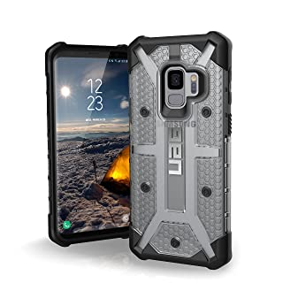 URBAN ARMOR GEAR UAG Designed for Samsung Galaxy S9 [5.8-inch Screen] Plasma Feather-Light Rugged [Ice] Military Drop Tested Phone Case