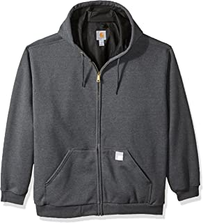 Men's Big and Tall B&t Rd Rutland Thermal Lined Hooded Zip Front Sweatshirt
