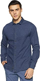 Celio Men's Printed Slim fit Casual Shirt