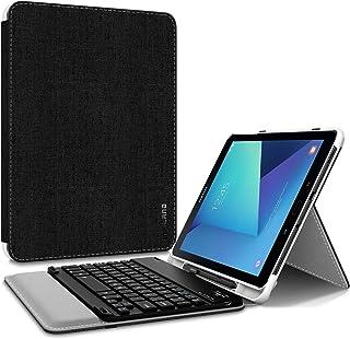 Infiland Samsung Galaxy Tab S3 9.7 Funda, Ultra Fino Slim Case con Desmontable Teclado Bluetooth Inalámbrico y portaplumas para Samsung Galaxy Tab S3 9.7 Inch (SM-T820/T825) Tablet,Negro