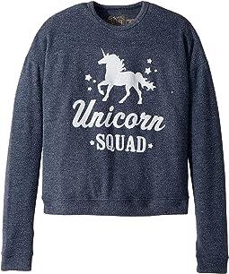 The Original Retro Brand Kids - Unicorn Squad Super Soft Haaci Pullover (Big Kids)