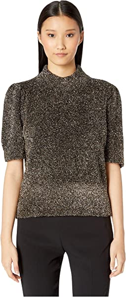 Dashing Beauty Metallic Texture Sweater