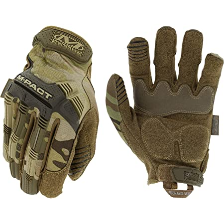 Mechanix Wear: M-Pact MultiCam Tactical Work Gloves (Medium, Camouflage)