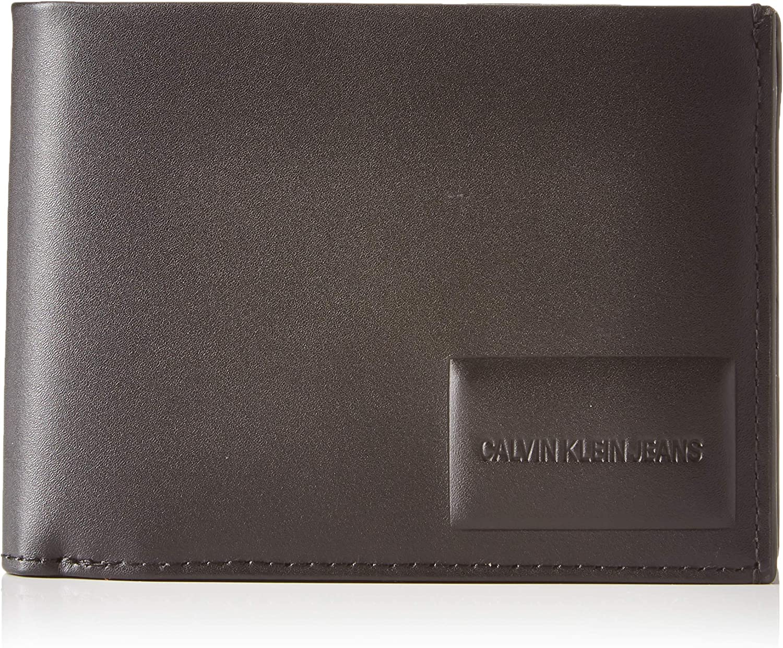 Calvin Klein OMEGA BILLFOLD EXTRAHombreShoppers y bolsos de hombroNegro (Black) 9.5x2.5x12.2 centimeters (B x H x T)