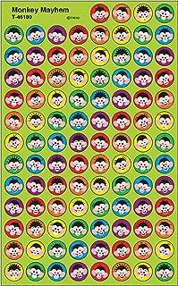 Trend Enterprises Inc. Monkey Mayhem superSpots Stickers, 800 ct