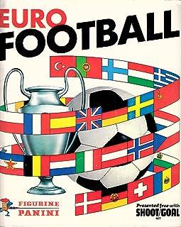 COMPLETE Shoot/Goal Euro Football Panini Sticker Album 1976/77