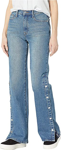 Bootcut Jeans with Snaps