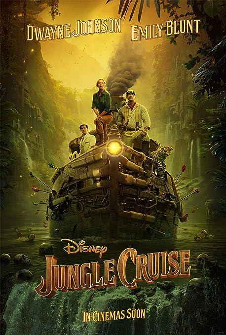 Amazon.com: JUNGLE CRUISE MOVIE POSTER 2 Sided ORIGINAL INTL Advance 27x40  DWAYNE JOHNSON EMILY BLUNT: Posters & Prints
