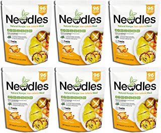 Newdles (New Generation) Konjac/Shirataki Low-Calorie Meal (Chicken Flavor) Easy to prepare, No boiling, Low Carb, Low Calories, High water-soluble dietary fiber, Good taste (Pack of 6)