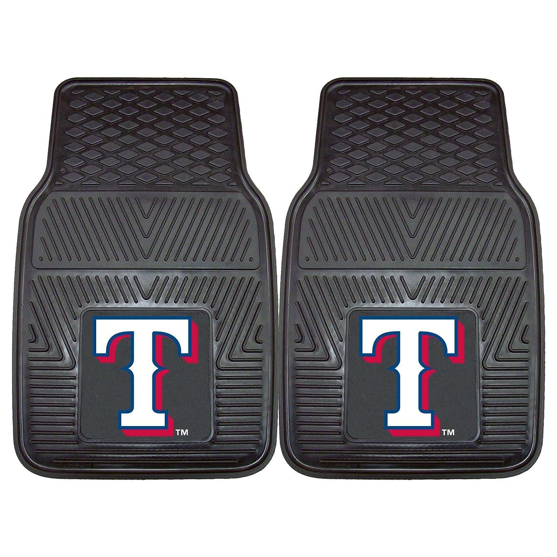 FANMATS MLB Texas Rangers Vinyl Heavy Duty Car Mat