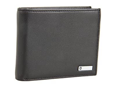 Victorinox Altiustm 3.0 Amsterdam Leather Bi-fold Wallet With Passcase (Black Leather) Wallet