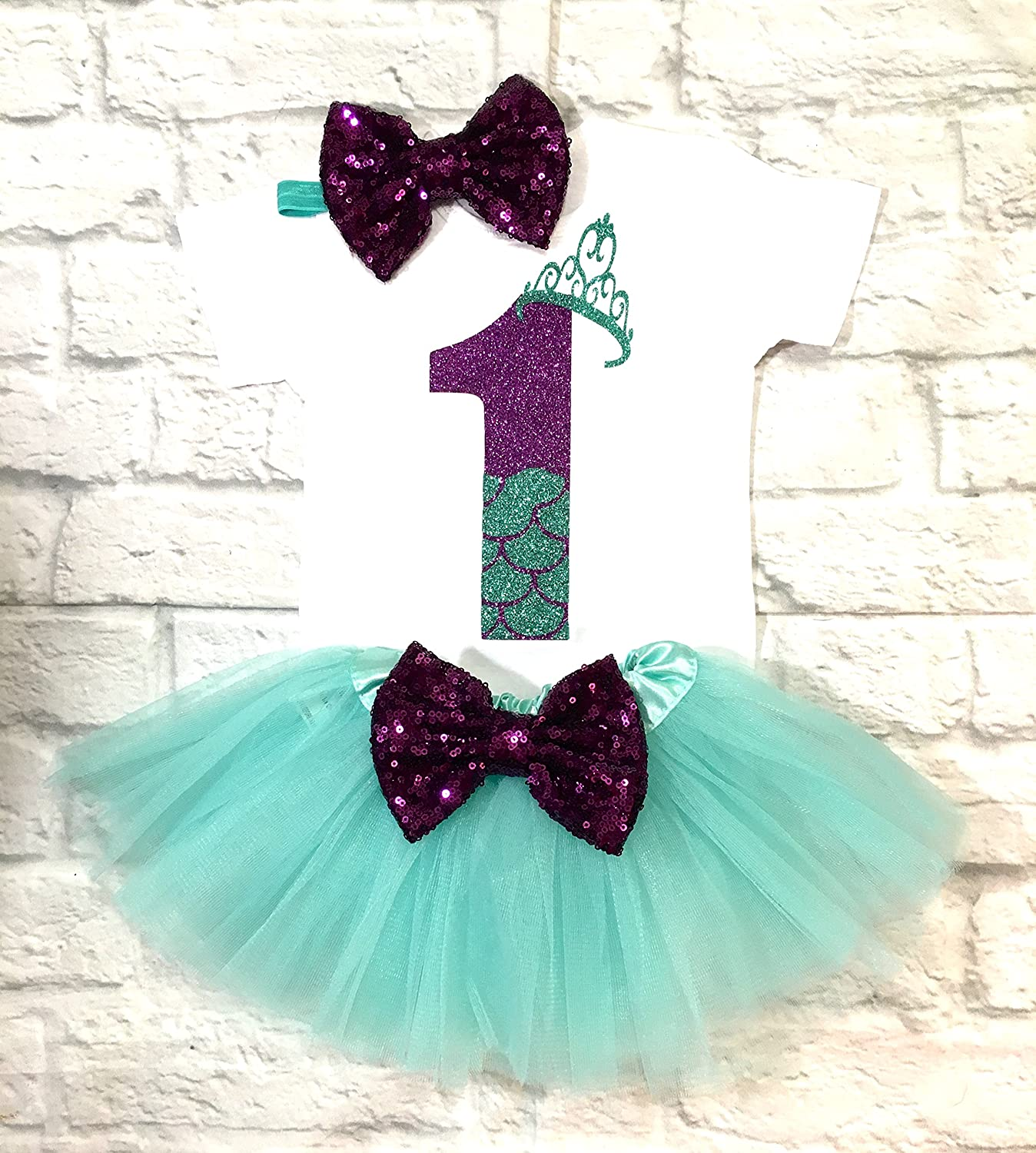1st Birthday Columbus Super Special SALE held Mall Outfit Mermaid Girl Birthda
