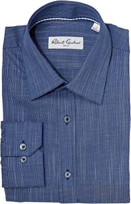 Robert Graham Tone On Tone Textured Solid Dress Shirt