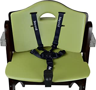 Abiie Beyond Wooden High Chair Cushion Set only. (6 Months up to 250 Lb) (Cushion Set Only: Olive Green).