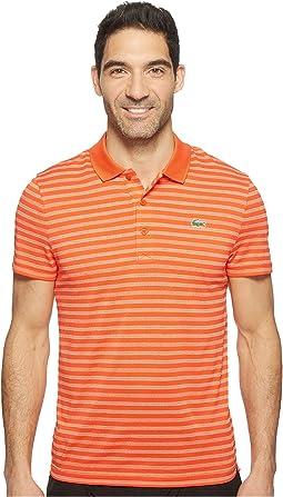 Golf Fine Stripe Ultra Dry Pique Knit