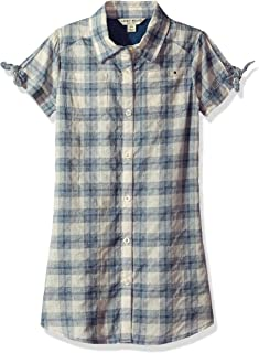 Lucky Brand Girls' Short Sleeve Fashion Dress