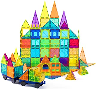 Best cossy Kids Magnet Toys Magnet Building Tiles, 120 Pcs 3D Magnetic Building Blocks Set, Educational Toys for Kids Children Review