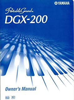 Portable Grand DGX-200 Owner's Manuel
