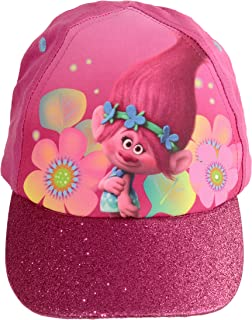 Official Licensed Girls Trolls Poppy Pom Pom Summer Baseball Cap Hat Age 3-6 yr