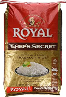 Royal Chef's Secret Extra Long Grain Basmati Rice, 40 Pound