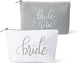 bride tribe makeup bag