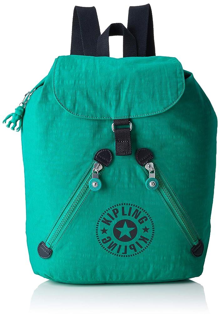 解決私たち自身にKipling - Backpack - Fundamental Nc - KI2519 - Lively Green