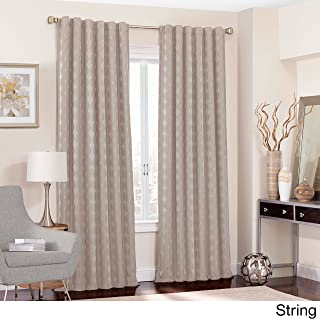 Eclipse Adalyn Thermalayer Blackout Window Curtain Panel String 52x84 84 Inches