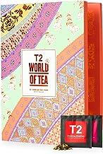 T2 Tea World of Tea: Loose Leaf Advent Calendar for Christmas 2020, Countdown to Christmas, 24 Loose Leaf Sachets, 58 g (T...