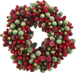 Laurel Window Wreath Mini Dill Grass Candle Ring Wreath Dill Grass Wreath Dill Leaf Wreath